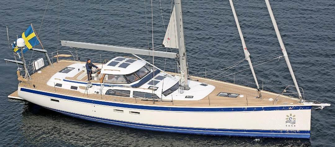 Hallberg-Rassy 57 at Cannes Yachting Festival 8-13 September 2020